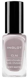 Inglot O2M Breathable Nail Enamel Soft Matte 11ml 504