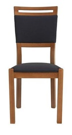 Ēdamistabas krēsls Black Red White Arosa Walnut Ekwador 2417, 1 gab.