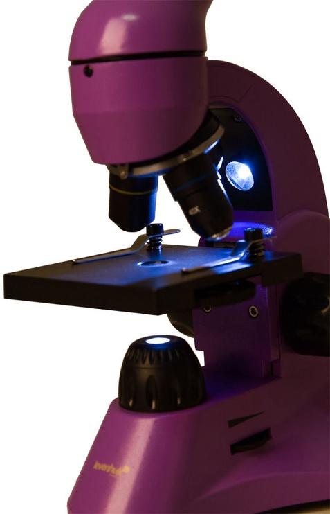 Levenhuk Rainbow 50L Amethyst Microscope