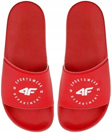 4F Women Slides H4Z20-KLD001 Red 41