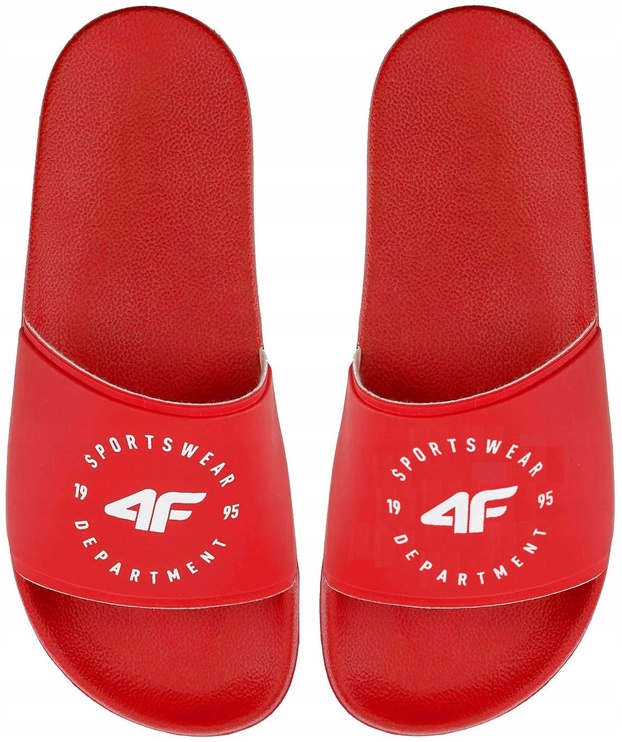 4F Women Slides H4Z20-KLD001 Red 41