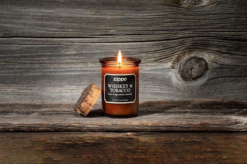 Ароматическая свеча Zippo Spirit Candle Whiskey And Tobacco