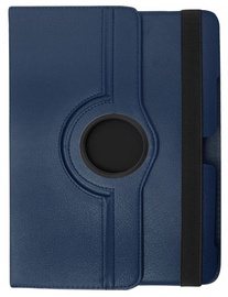 Etui Case With Rotated Stand For Samsung Galaxy Tab 3 8.0 Blue