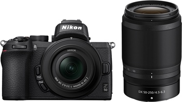 Nikon Z50 + Nikkor Z DX 16-50mm f / 3.5-6.3 VR + Nikkor Z DX 50-250mm f/4.5-6.3 VR