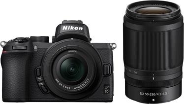 Nikon Z50 Nikon Z50 Nikon Z50 + Nikkor Z DX 16-50mm f / 3.5-6.3 VR + Nikkor Z DX 50-250mm f/4.5-6.3 VR