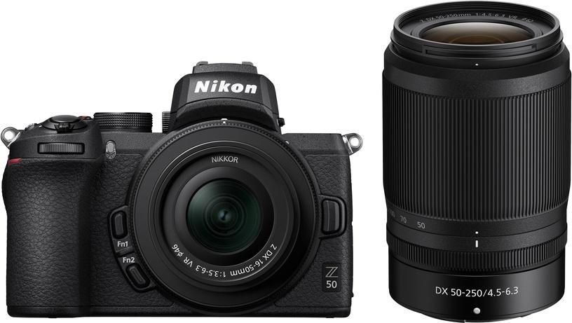 Nikon Z50 + Nikkor Z DX 16-50mm f / 3.5-6.3 VR + Nikkor Z DX 50-250mm f/4.5-6.3 VR