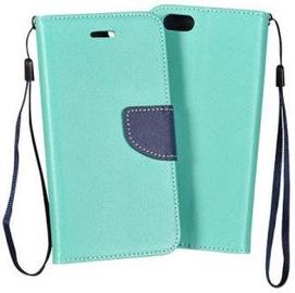Mocco Smart Fancy Book Case For Samsung HTC U11 Mint/Blue