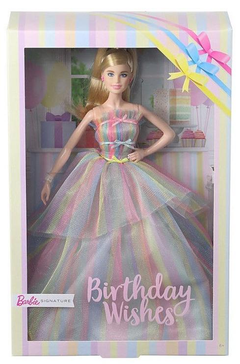 Mattel Barbie Birthday Wishes Doll GHT42