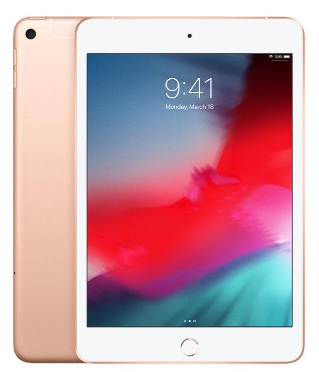 Planšetinis kompiuteris Apple iPad Mini 5 Wi-Fi LTE 64GB Gold