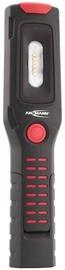 Ansmann Rechargeable Flashlight IL300R Black/Red