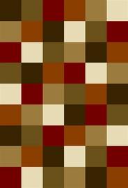 Ковер Oriental Weavers Vancouver 1923 AY3-X, коричневый/красный/песочный, 150x100 см