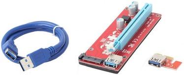 Gembird PCI-Express Riser Add-on card SATA Power