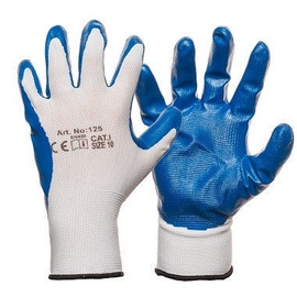 DD Nylon Knitted Gloves With Smooth Nitrile Coating 8
