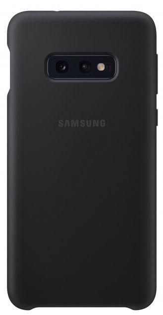 Samsung Silicone Back Case For Samsung Galaxy S10e Black