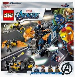 Конструктор LEGO Super Heroes Мстители: Нападение на грузовик 76143, 477 шт.