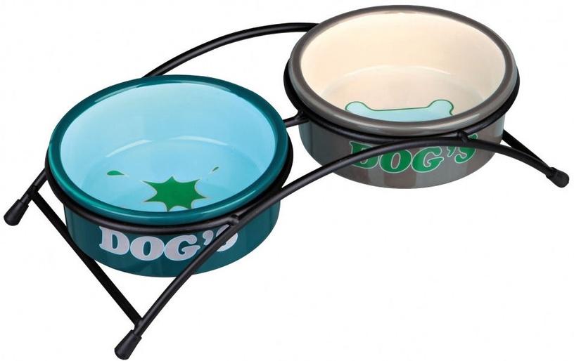 Trixie Dog Ceramic Bowl Set