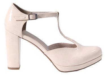 Tamaris Lycoris High Heel 1/1-24409/20 Cream Patent 36