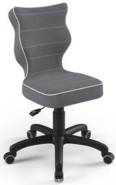 Детский стул Entelo Petit Size 4 JS33, черный/серый, 350 мм x 830 мм