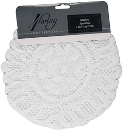 4Living Lace Tray Cloth White 009811