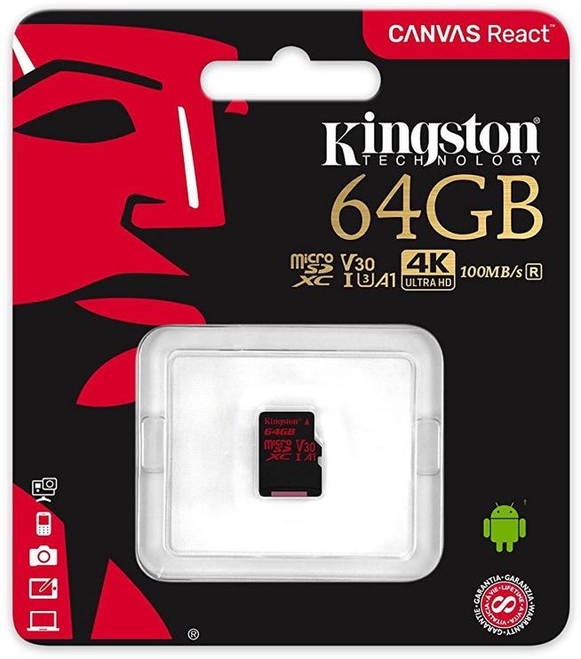 Kingston Canvas React 64GB SDCR/64GBSP