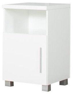 Bodzio Nightstand Panama PA50 White