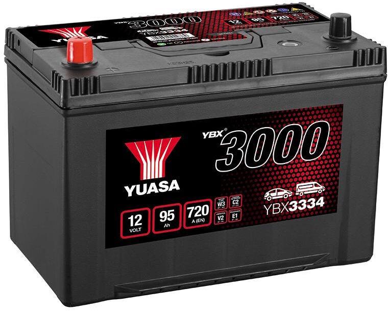 Аккумулятор Yuasa YBX3334, 12 В, 95 Ач, 720 а