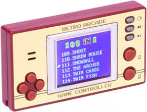 Thumbs Up Retro Pocket Games with LCD Screen