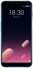 Mobilusis telefonas Meizu M6s Blue, 32 GB