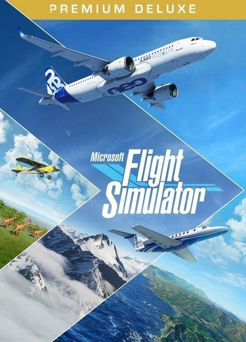 Microsoft Flight Simulator Premium Deluxe Edition PC