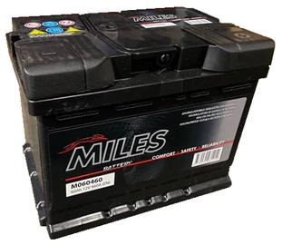 Аккумулятор Miles M060460, 12 В, 60 Ач, 460 а