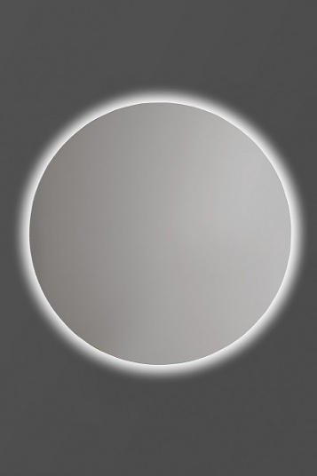 Peegel Andres O Led, valgustusega, riputatav, 50x50 cm