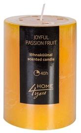 Ароматическая свеча Home4you Candle Joyful Pasion Fruit D6.8xH9.5см