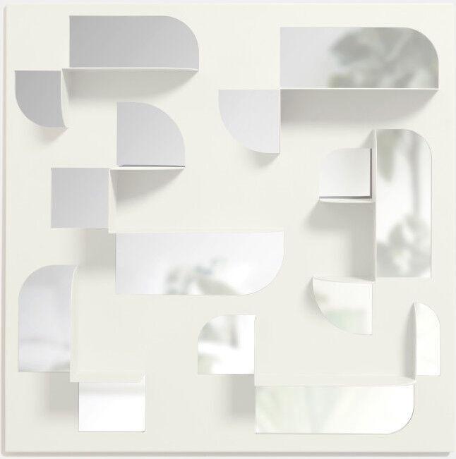 Peegel Umbra Bend, riputatav, 61x61 cm