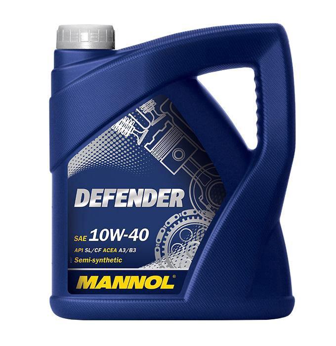 MOTOREĻĻA MANNOL DEFENDER 10W/40 5L