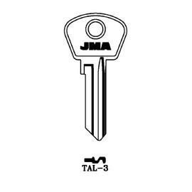 Raktų ruošinys JMA TAL-3, 1 vnt.