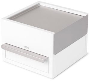 Umbra Stowit Jewelry Box Mini White/Nickel