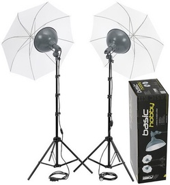 Fomei Basic Hobby 500/500 Lighting Kit