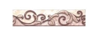 Keraminės dekoruotos sienų juostelės Afina 3, 20 x 4,7 cm