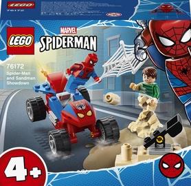 Конструктор LEGO Super Heroes Marvel Бой Человека-Паука с Песочным Человеком 76172, 45 шт.