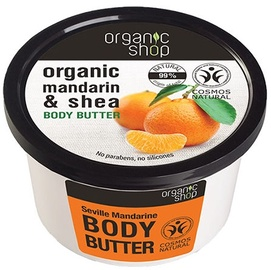 Organic Shop Body Butter Seville Mandarin 250ml