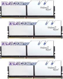 G.SKILL Trident Z Royal Silver 32GB 3600MHz CL14 DDR4 KIT OF 4 F4-3600C14Q-32GTRSB