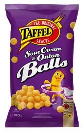 Traškučiai Taffel Sourcream and Onion Balls, 190 g