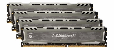 Crucial Ballistix Sport LT Gray 32GB 3000MHz CL15 DDR4 KIT OF 4 BLS4K8G4D30AESBK