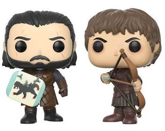 Funko Pop! Television Game Of Thrones Battle of the Bastards 2Pack