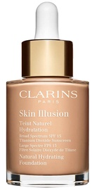 Clarins Skin Illusion Natural Hydrating Foundation SFP15 30ml 108