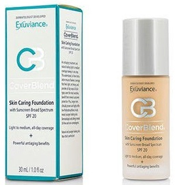Exuviance Coverblend Skin Caring Foundation SPF20 30ml Blush Beige