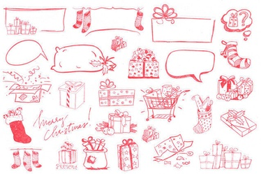 Fuji Instax Christmas Photo Stickers 50