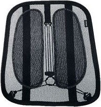 Fellowes 9191301 Office Suites™ Mesh Back Support Black