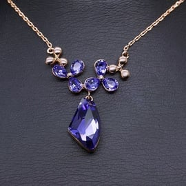 Diamond Sky Pendant Celestial Tenderness With Swarovski Crystals
