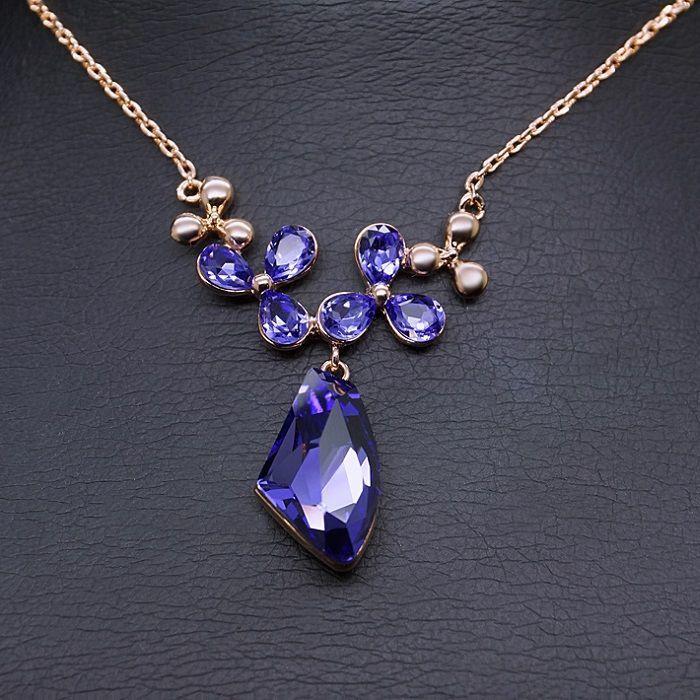 Diamond Sky Pendant Celestial Tenderness With Swarovski Crystals